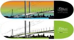 2australian-bridges-city-skate-board-graphic