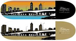 3-australian-bridges-city-skate-board-graphic
